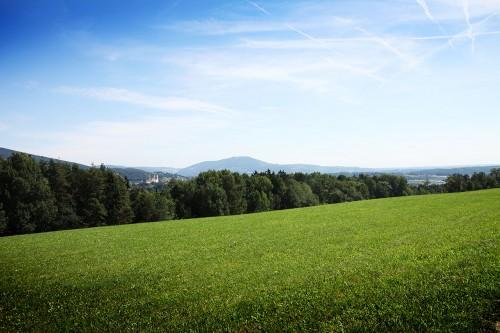 Aussicht Raabtal Radweg