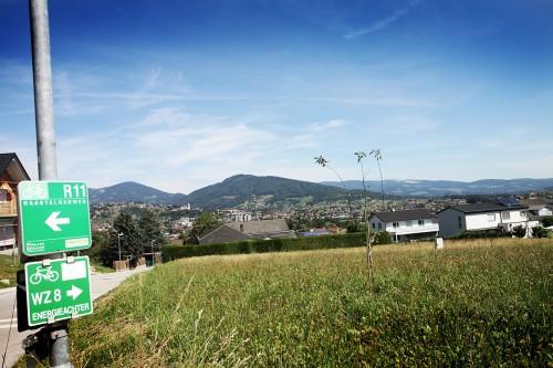 Raabtalradweg R11 Schilder