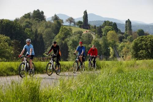 Radfahrer Raabtalradweg