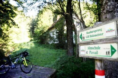 Almenland Schilder Radweg