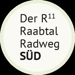 Der R11 Raabtal Radweg Süd